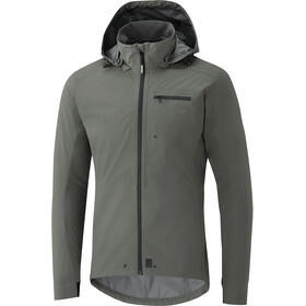 Shimano Transit Hardshell Jacket Men gray